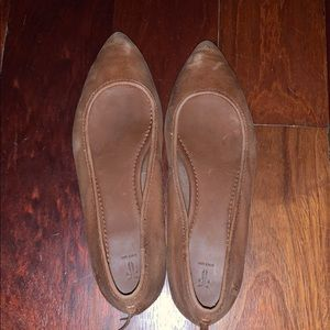 Frye leather flats 8.5